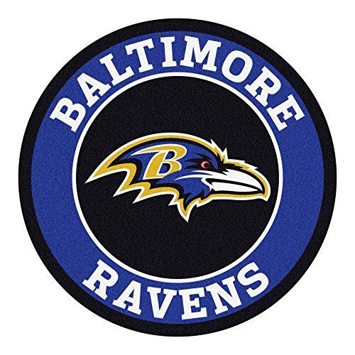 FANMATS 17951 NFL Baltimore Ravens Roundel Mat