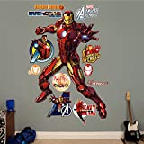 FATHEAD Iron Man-Avengers Assemble Real Big Wall Decal
