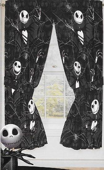 Amazon.com: Original Nightmare Before Christmas Curtains/drapes 4 ...