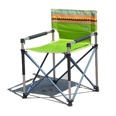 HJKH Sillas de Camping Plegables portátiles de Aluminio ...
