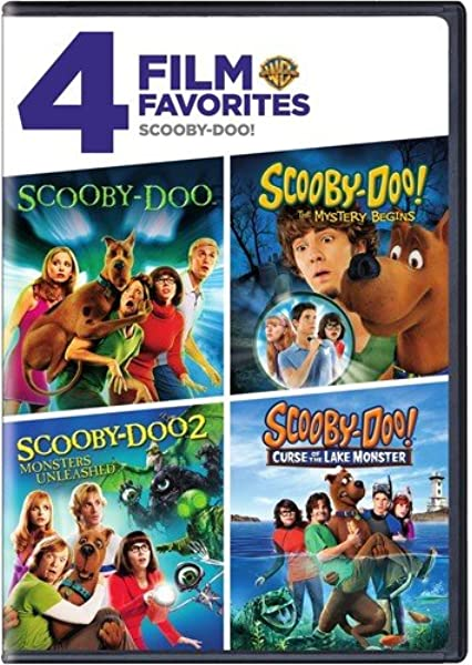 Amazon Com 4 Film Favorites Scooby Doo Live Action Various Various Movies Tv