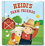 Baby Farm Animals Personalized Custom Name Board Book | I See Me!