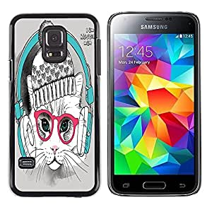 Dragon Case - FOR Samsung Galaxy S5 Mini, SM-G800 - come to an end - Caja protectora de pl??stico duro de la cubierta Dise?¡Ào Slim Fit