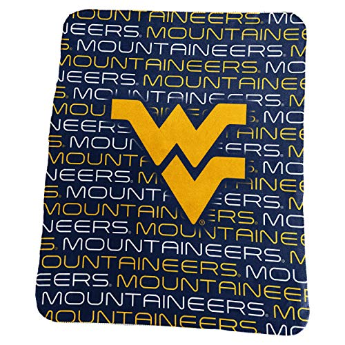 - Logo Brands NCAA West Virginia Mountaineers Unisex Classic Fleececlassic Fleece, Navy, N/A