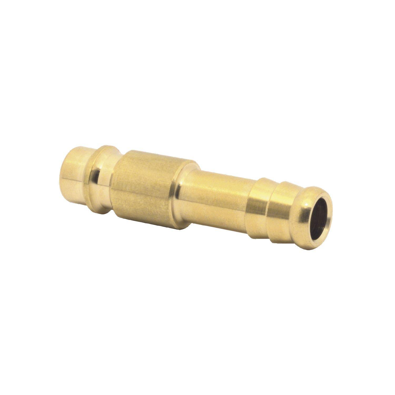 el acoplamiento de lat/ón con manguera 9 mm, Elmag 42318 Eur aire comprimido