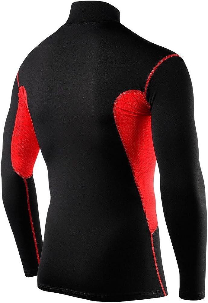 Men/'s Boy/'s Super Thermal Compression Gym Sport Base Layer Top T Shirt Skins UK