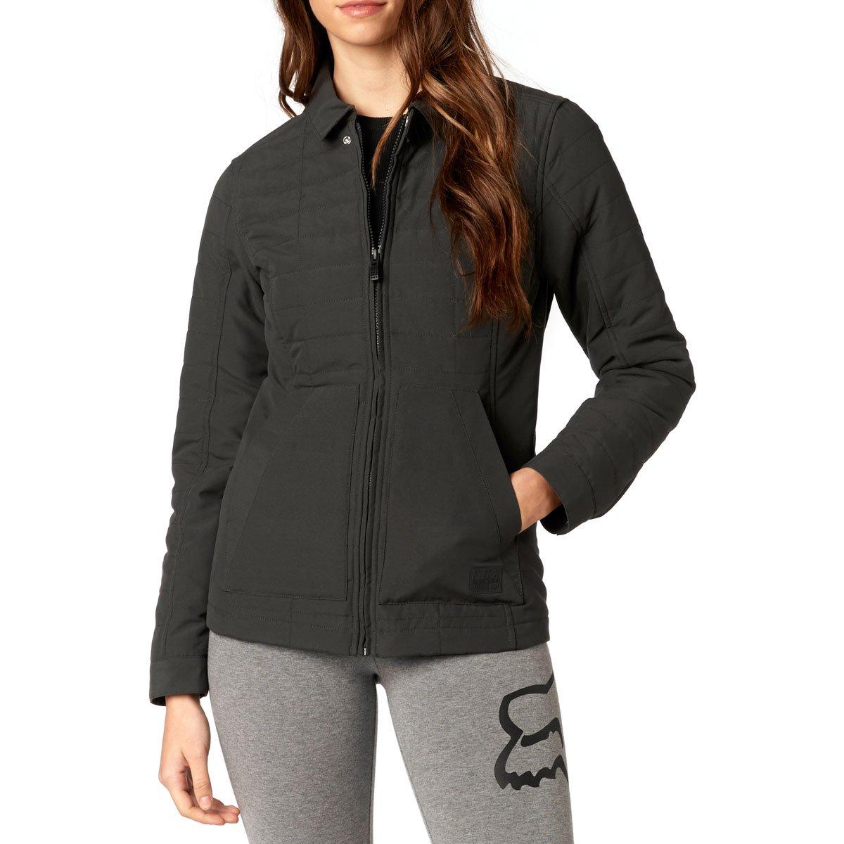 Fox Racing Women's Podium Jacket (MEDIUM) (BLACK)