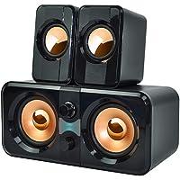 Havana FT-200 2.1 Speaker Ekstra Bass Hoparlör Ses Sistemi 2+1 USB Mini Hoparlörü Seti USB Hoparlörler Hoparlör Dengeli…