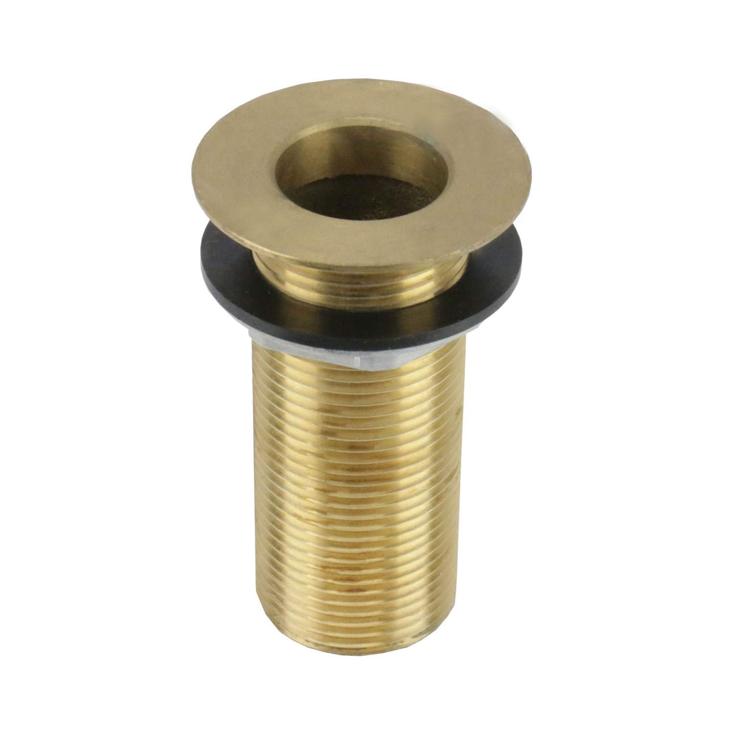 AA Faucet Brass Bar Sink Drain 1'' Nominal Pipe Size, 2'' Diameter Drain Opening (3-1/4'' Length) by AA Faucet