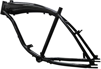 66//80cc and 48cc Black BBR Tuning Complete 26 Inch 2-Stroke Motor-Ready Bicycle w// 2.4L in-Frame Gas Tank