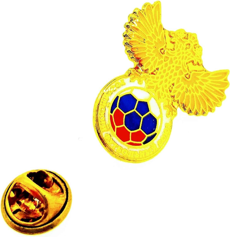 Gemelolandia Pin de solapa Escudo Selección Rusa de Fútbol 27x25mm: Amazon.es: Ropa y accesorios