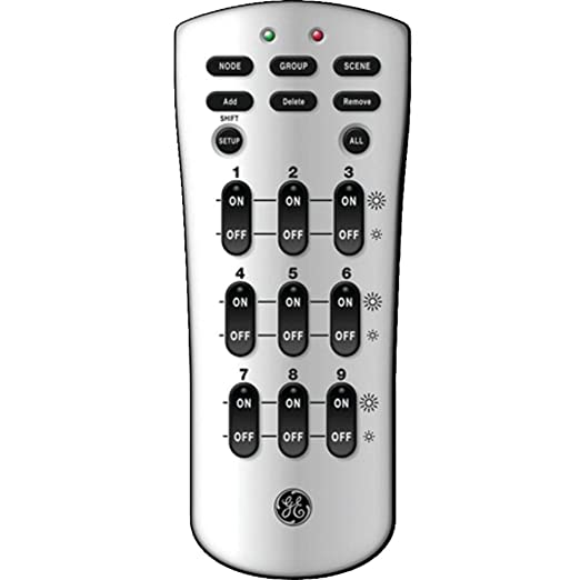 ge 45631 wave wireless lighting. ge 45600 zwave basic handheld remote not compatible with the iris hub ceiling fan controls amazoncom ge 45631 wave wireless lighting
