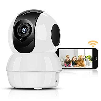 Wireless IP Camera Night Vision Motion SD Card WIFI 1080P HD Home Security Cam