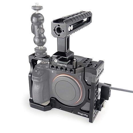 MAGICRIG - Jaula para cámara réflex Digital con Mango de la OTAN y ...