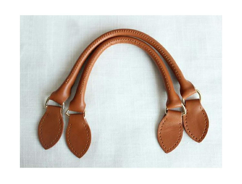 Moange Leather Bag Handles 411.5cm Short Strap DIY Bag Belt Replacement Bag Accessories for Luxury Bag