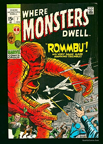 Where Monsters Dwell #7 January 1970