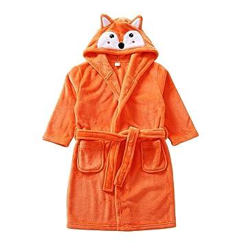 b1ae4bf76da7c Enfants Peignoir Robe de Chambre Flanelle Pyjamas Garçons Filles Chemise de  Nuit