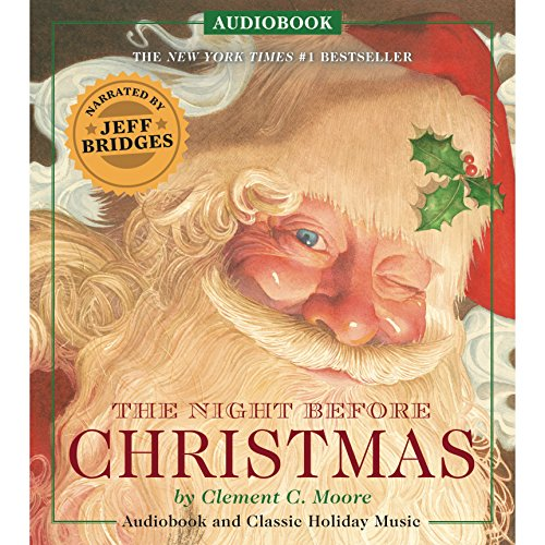 The Night Before Christmas Audiobook: Narrated by Academy Award Winner Jeff Bridges Audiobook [Free Download by Trial] thumbnail