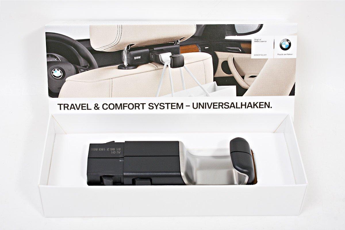 BMW X5 (F15) seat-back universal hook