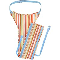 The Gro Company Retro Jazz Stripe Chair Harness Aqua