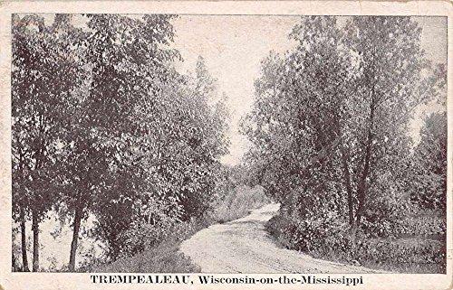 Trempealeau Wisconsin On The Mississippi Antique Postcard K73516 (Mississippi Postcard)