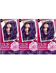 Garnier Hair Color Sensation Hair Cream, Grape Expectations...