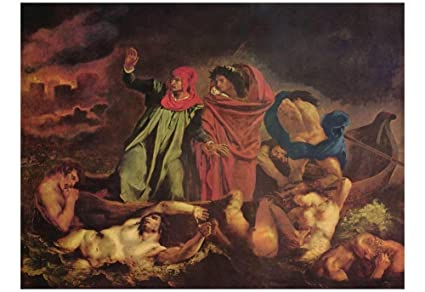 Dante and virgil in hell can suggest