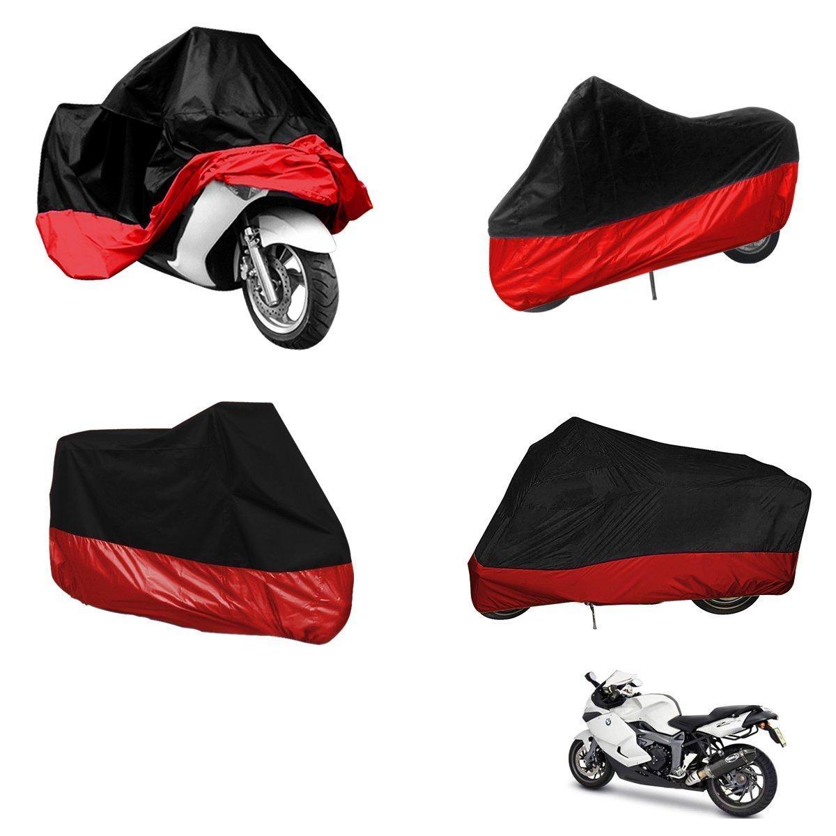 Camuffare, XL=245 * 105 * 125cm BININBOX Coprimoto Telo Motociclo Copri Scooter Impermeabile Antipolvere Anti UV Traspirante Universale