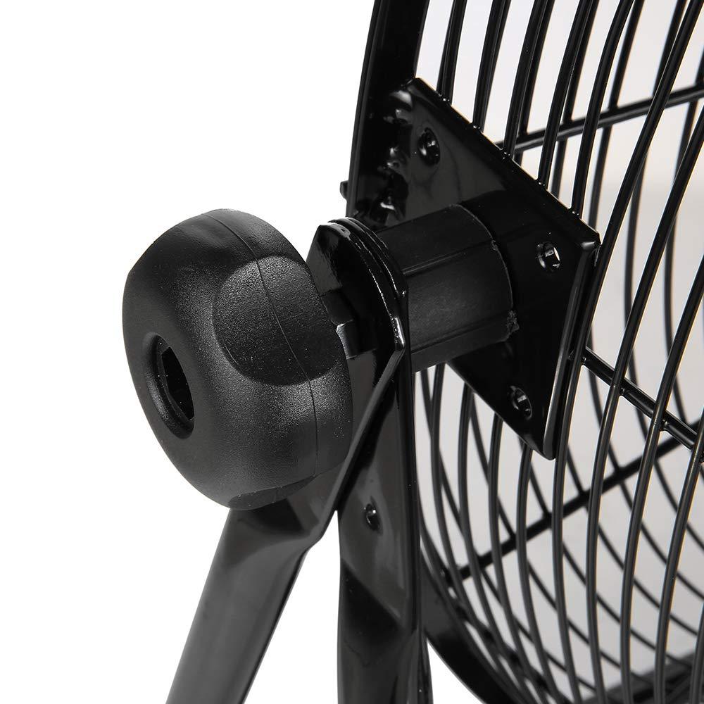 Master PROFESSIONAL MAC-30BCT-EP, Heavy Duty, 30'' Direct Drive Basket Cradle Floor Fan-tiltable, Black by Master PROFESSIONAL (Image #4)