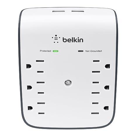 Amazon.com: Protector de sobrecarga Belkin con Puerto USB. 2 ...