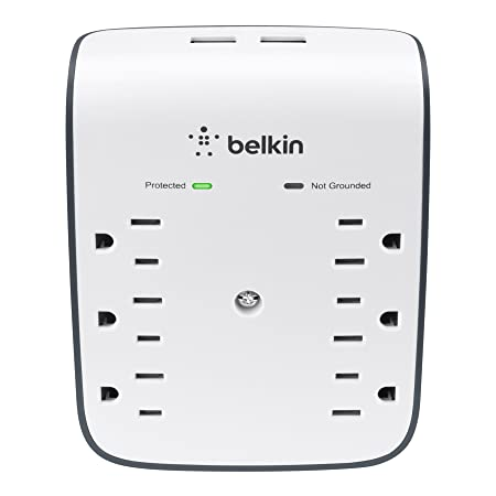 Review Belkin SurgePlus 6-Outlet Wall