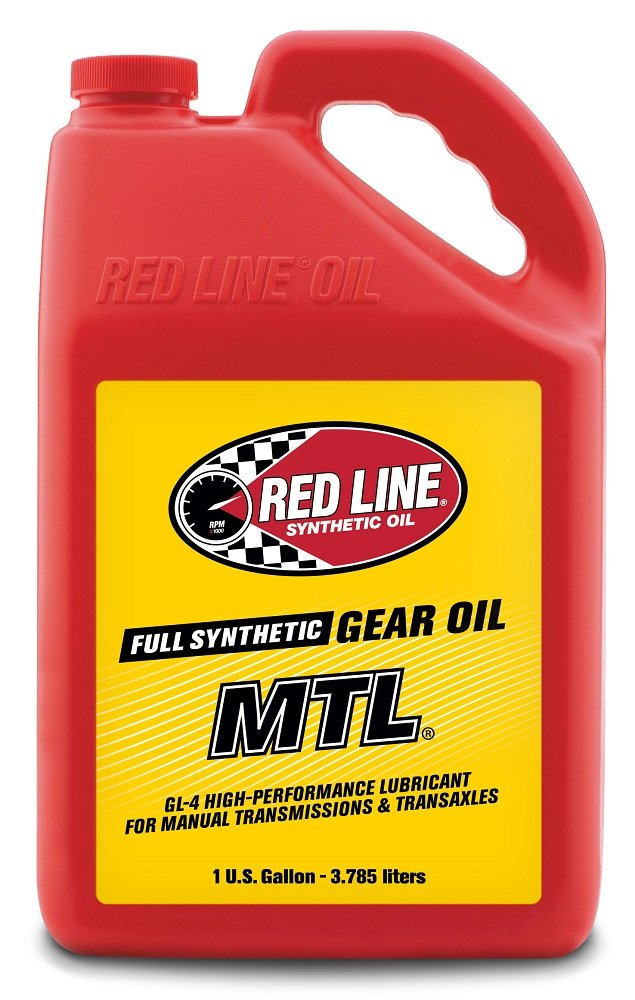 Red Line 50205 Manual Transmission Lubricant (MTL) Gear Oil - 1 Gallon, (Pack of 4)