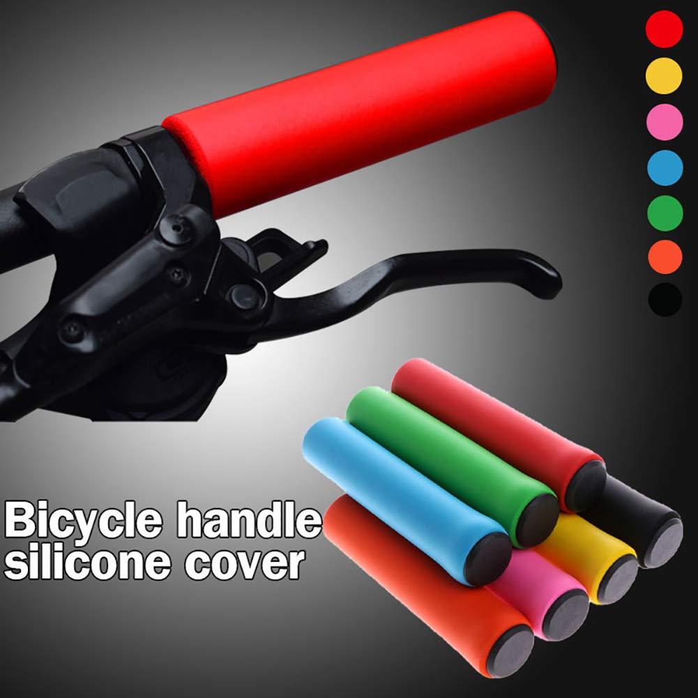 Protector de manija de Bicicleta Fernando S.L Pu/ños de Manillar de Bicicleta para MTB BMX Cuesta Abajo Bicicleta Plegable monta/ña