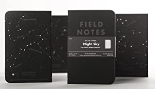 product image for Field Notes Dot Grid Memo Notebooks - 3 Pack - Night Sky Edition