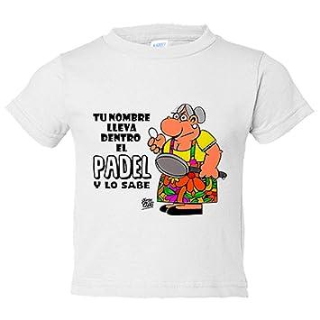 Camiseta niño llevas dentro el Padel y lo sabes ...