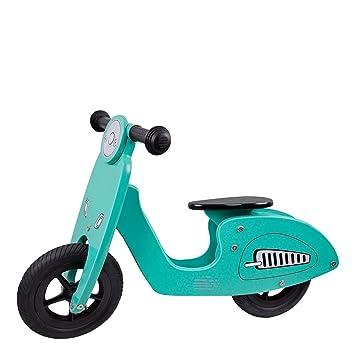 ColorBaby - Moto sin pedales de madera Scooter (85103): Amazon.es: Juguetes y juegos