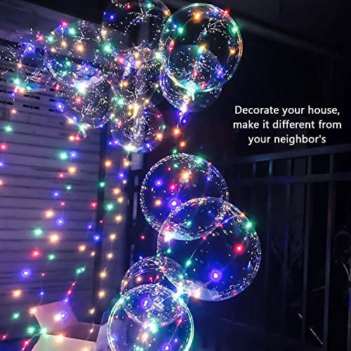 Lovely LED String Lights ITERY Multi Color Starry 33ft 100 Decorative Christmas Battery