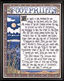 Design Works ''Footprints'' 16'' X 20'' Counted Cross Stitch Pattern
