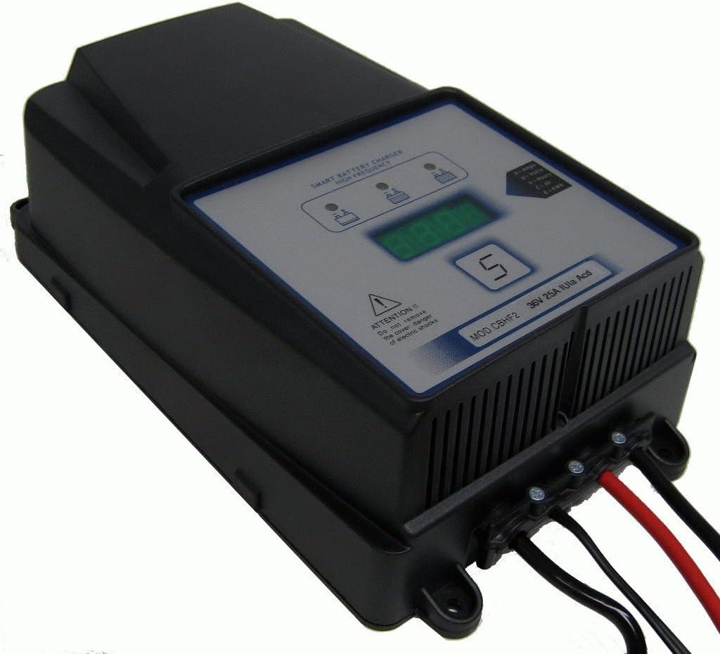 Q-Batteries Cargador de Alta frecuencia de bajo Consumo de 24 V 40 A por S.P.E. Cargador.