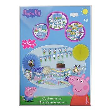Peppa Pig DARP-CPEP082 Personalizar su Fiesta de cumpleaños ...
