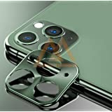 MARSHLAND Camera Lens Protector Anti Scratch Smooth Touch Camera Lens Cover Compatible for iPhone 11 pro max (6.5, Green)