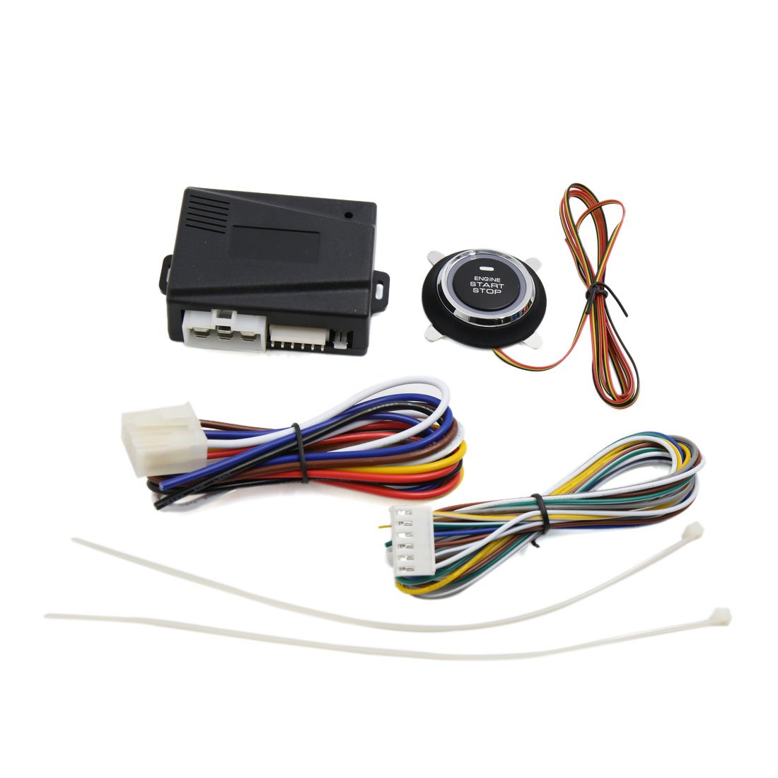 uxcell Universal Engine Start Stop System w/Push Button Device DC 12V
