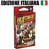 Asmodee Italia Keyforge, Il Richiamo degli Arconti-Mazzo Gioco di Carte, Colore Rosso, 10601