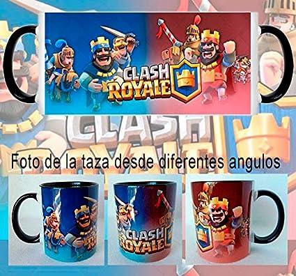 Mxgames Taza Clash Royale Rey Rojo y Azul