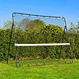 Tennis Rebound Net Trainer (9' x 7') - New and Improved 2017 Model [Net World Sports]