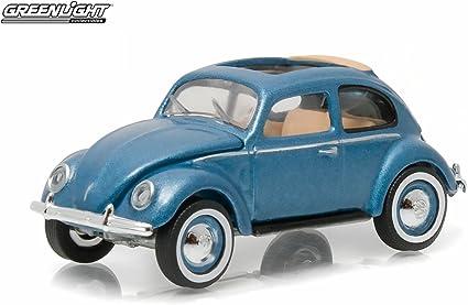 Volkswagen 1951 Type 1 Split Window Beetle Azure Blue with Sunroof 1//64 by Greenlight 29840 C