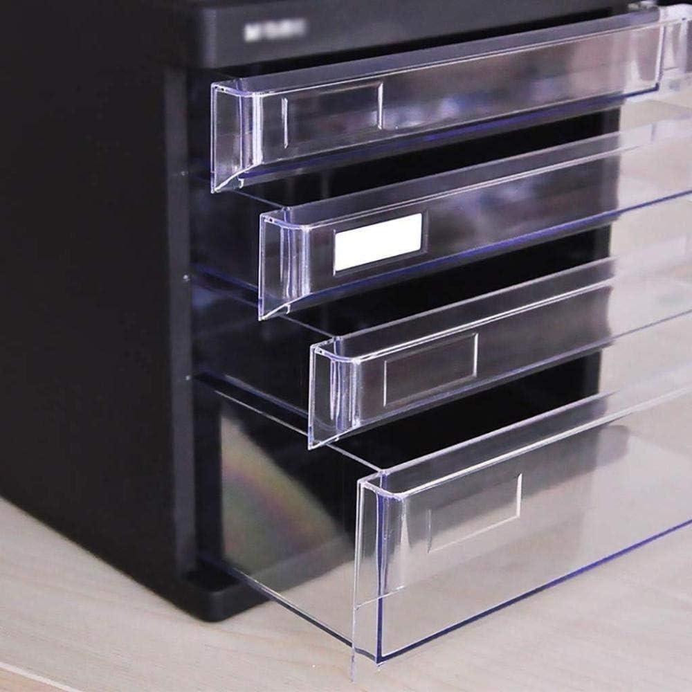 Home Office Furniture Office Supplies 27X36.2X25.6CM File cabinet File Cabinets Desktop Organizer Home Office Archive Comfortabledesktop Layer Drawer Desk Storage Box Plastic