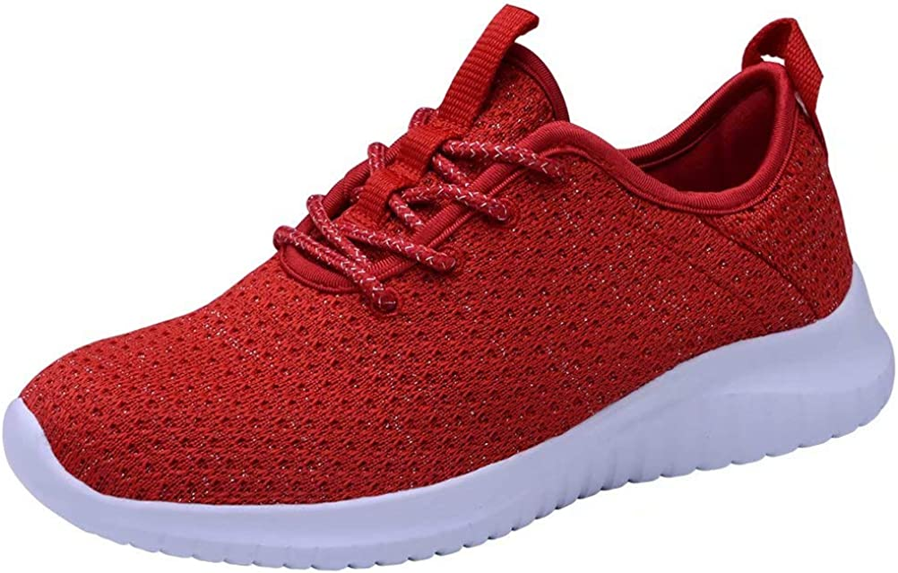 LANCROP Women s Running Shoes – Lightweight Athletic Slip on Walking Sneakers