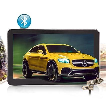 yqtec 4,3 pulgadas 8 GB GPS Coche Sistema de navegación GPS, Bluetooth,