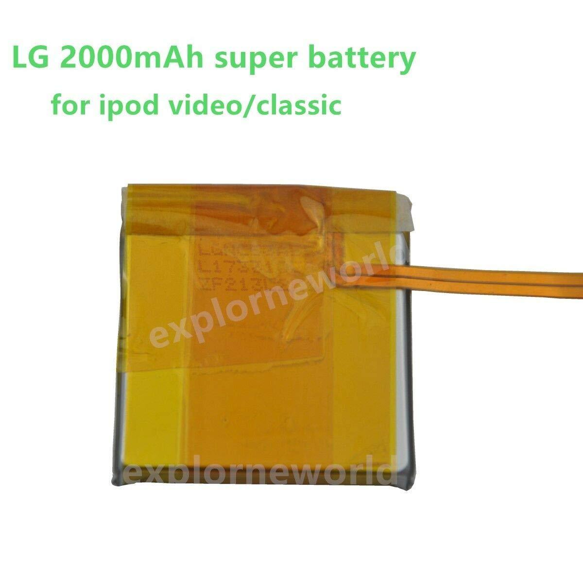 FidgetGear LG - Batería de Repuesto para iPod Classic 7th 80 120 ...